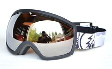 2018 NWOB ELECTRIC EG2 SNOWBOARD GOGGLES $140 Duct Tape / Brose-Silver Chrome