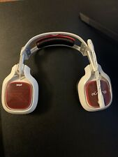 Astro A40 TR Headset with MixAmp Pro TR for PC and PS4 - White/ Mod kit included