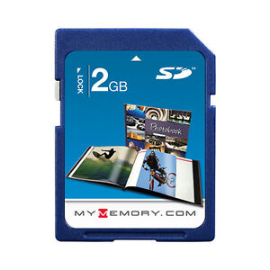 MyMemory 2GB SD Memory Card for Digital Camera Stoarge New