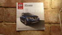 2017 AUSTRALIAN NISSAN PATHFINDER MODEL CAR SALES BROCHURE