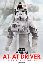 SIDESHOW:EXCLUSIVE-STAR WARS V ESB:IMPERIAL AT-AT DRIVER 1:6 Scale Figure
