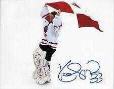 Auto. Kim St Pierre Team Canada 2010 Vancouver Olympics 8x10 Womens Hockey