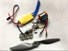 DIY 1450kV Brushless Outrunner Motor + Mystery 30A ESC + Prop Kit Combo Planes