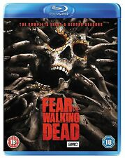 Fear the Walking Dead Complete Collection 1-2 Blu Ray Box set All Season 1 2 UK