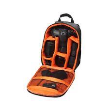 Deluxe Camera Rucksack Backpack Pro Bag Case Orange for Canon Nikon DSLR SLR