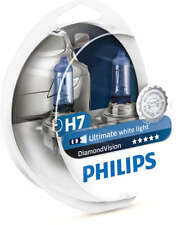 Philips Diamond Vision H7 Headlight Bulbs 12V 55W (Pair)