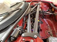 "To 3/"" Intake Adapter Toyota MR2 3SGTE Air Flow Meter AFM"