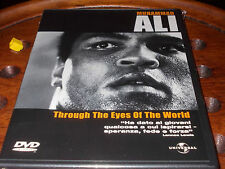 MUHAMMAD ALI THROUGH THE EYES OF THE WORLD  Dvd ..... Nuovo