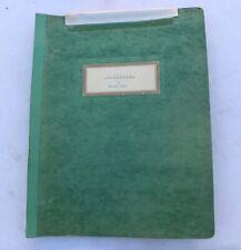 Calvario Marcus Bach Play Theater Script Philosopher & Production Notes Vintage