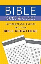 Bible Cues and Clues: 101 Word Search Puzzles Test Your Bible Knowledge by...