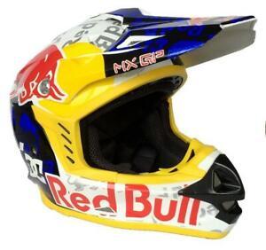 Motocross Adults Motorcycle Helmet Redbull MX GP DC Edition Red Bull