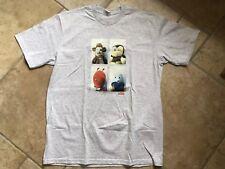Supreme Mike Kelley AHH juventud! Camiseta Medio Gris Ceniza. nuevo con etiquetas
