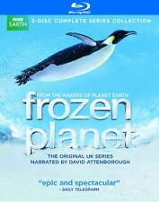 NEW - Frozen Planet 3-Disc Complete Series Collection Blu-Ray Disc