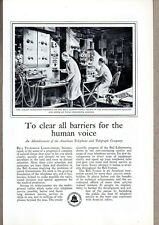 1931 Print Ad Bell Telephone Laboratories Working on Phone Service Improvements