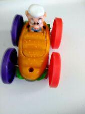 1990 Mc Donald's Happy Meals Tiny Toons Flip Cars Dizzy Devil Hamton J Pig