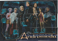 Inkworks Andromeda The Crew of The Andromeda Puzzle Insert Set of 9