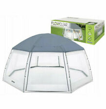 New ListingBestway 58612 Lay Z Spa Round Pool Tent Cover Canopy Dome Enclosure Protector