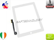 iPad 3/4 White Black Digitizer Touch Screen Replacement Glass Panel+ Home Button