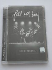 Fall Out Boy - Live In Phoenix + Videos (DVD) Brand New, Sealed, Region All