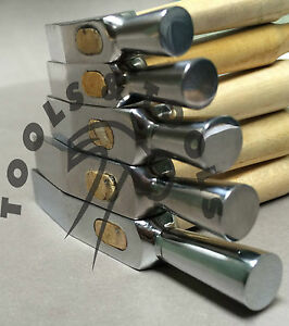 HIGH QUALITY WATCHMAKERS HAMMERS SWISS STYLE WATCH HAMMER REPAIR JEWELRY 5 SIZES
