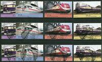 Bund 2560 - 2563 postfrisch gestempelt BRD Luxus ETST Vollstempel Bonn Berlin