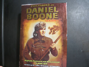 Daniel Boone - Season 1 (DVD, 2006, 8-Disc Set)
