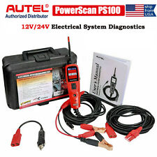Electrical System Diagnostic Tool 12V 24V Car Circuit Tester  PowerScan PS100