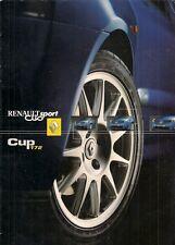 Renault Clio RenaultSport 172 Cup 2002-03 UK Market Sales Brochure