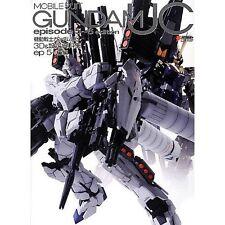 Gundam UC 3D & Analytics Art Book Episode 5-6 Japanese Model Kit Book