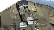 WW2 U.S. ARMY Air Corps Major Medical 8th Air Force 39 L MFG Dec 1st 1942