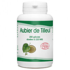Aubier de Tilleul Bio - 220 mg - 200 gélules