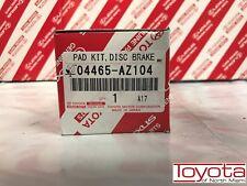 2004-2010 Toyota Sienna Front Genuine OEM Brake Pads 04465-AZ104