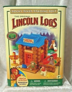 Lincoln Logs Rocky River Trading Post - NEW.  L