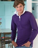 Front Row Rugby Long sleeve plain rugby shirt FR100