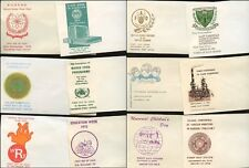 PAKISTAN 1960-70s 20 ILLUSTRATED ENVELOPES for FDCs PRINTED PAKISTAN PO Lot 2