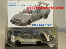 TEAM SLOT KIT008 Renault Alpine A310 V6 Gr.5 - Complete White Kit - New