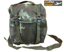 Mens Combat Army Military Day Pack Messenger Shoulder Bag Camo Sport Surplus New