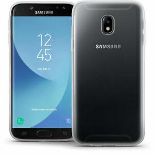For Samsung Galaxy J3 2017 SM-J330 New Genuine Clear Gel Rubber Phone Case