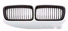 BMW E38 7-Series 4DR 740i 740iL 750iL Front Kidney Grille Grill Black Chrome