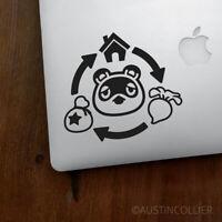"5"" CIRCLE OF NOOK Vinyl Decal Laptop Sticker - animal crossing tom nook gift"