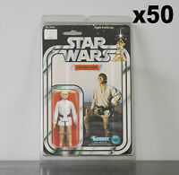 50 x Protective Figure Case For Star Wars 3 3/4 Inch MOC Action Figures
