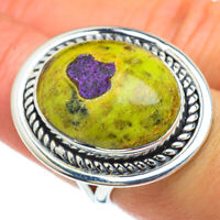Large Atlantisite 925 Sterling Silver Ring Size 7 Ana Co Jewelry R44195F