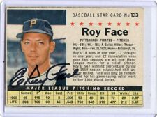 1961 POST CEREAL #133 ROY FACE AUTOGRAPH PITTSBURGH PIRATES 110317