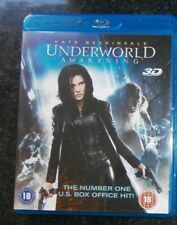 UNDERWORLD, AWAKENING  :  3D + BLURAY. kate beckindale