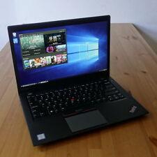 Lenovo ThinkPad T460s Laptop i7-6600U 2.6Ghz 8GB 14 WQHD 2560x1440 256GB SSD WTY