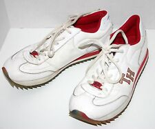 Vintage Leather Tommy Hilfiger Sneaker TWO1521 Tti-color sole Shoes Womens 7.5 M