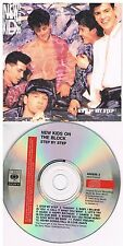 New Kids On The Block ‎– Step By Step CD Album 1990