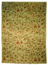 10 x 14 Flat Weave Thick Beige Flat-weave Handmade Sangor Rug