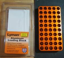 Lyman .485 Anodized Aluminum Case Loading Block-(7728081) NEW