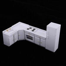 Cocina casa de muñecas en miniatura miniaturas escala 1,12 Estufa de salón